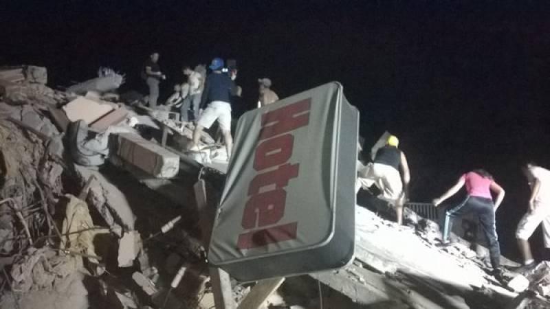 At least 28 dead as 7.8 magnitude quake hits Ecuador
