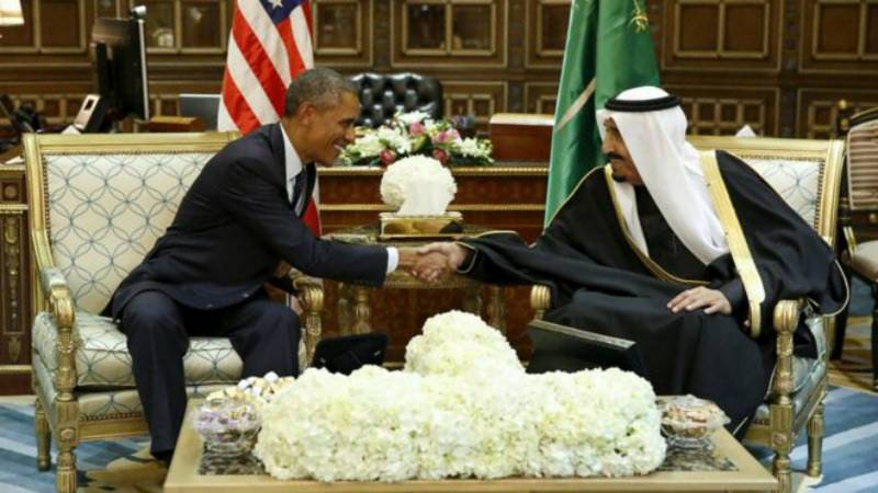 Obama heads to Saudi Arabia after 'free riders' remarks
