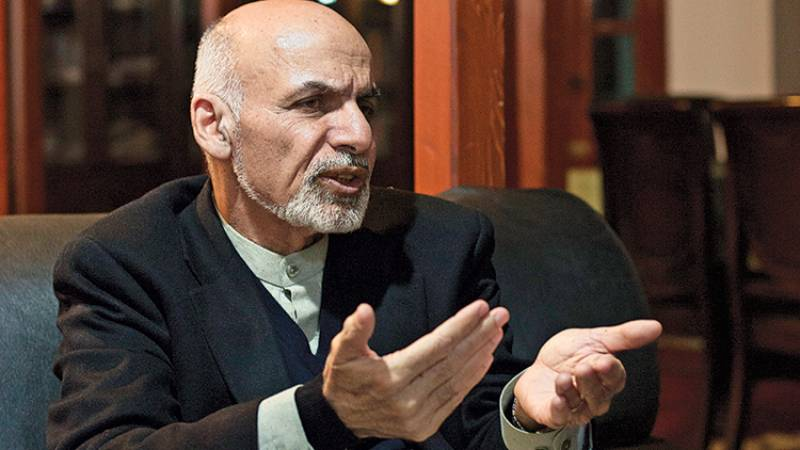 Ghani vows strict action against Taliban, rules out possibility of talks