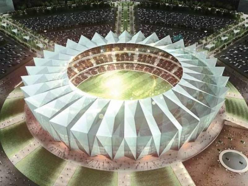 Pakistan's largest cricket stadium's design finalised