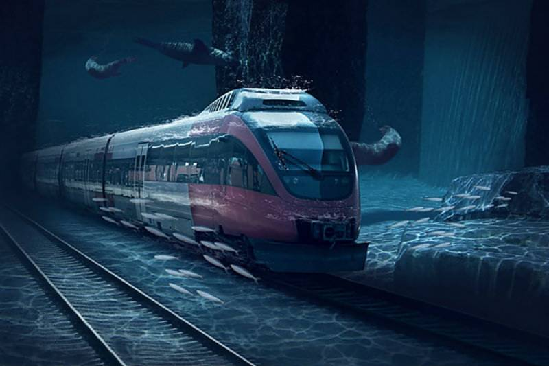India's first bullet train will run under water too!