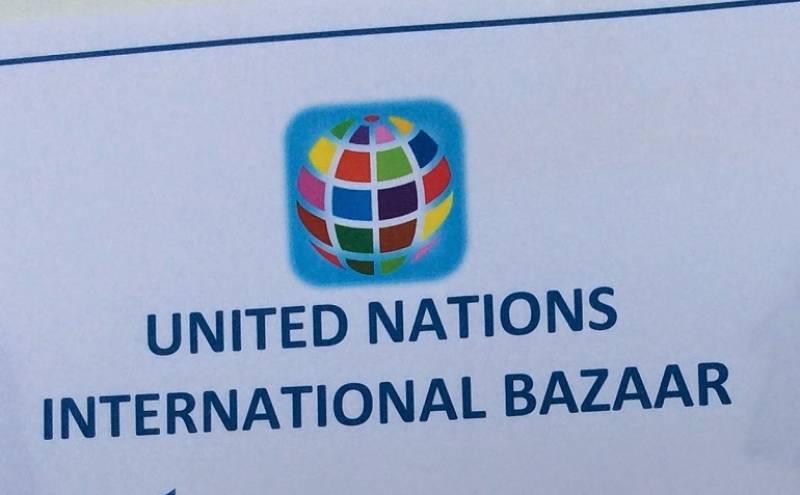 Pakistani products showcased at United Nations International Bazaar