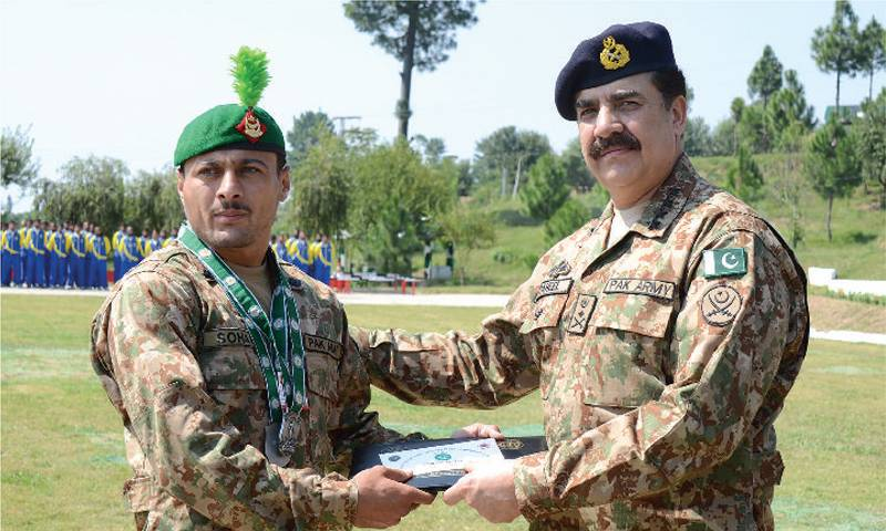 Physical fitness important in sports and on battlefield: General Raheel Sharif