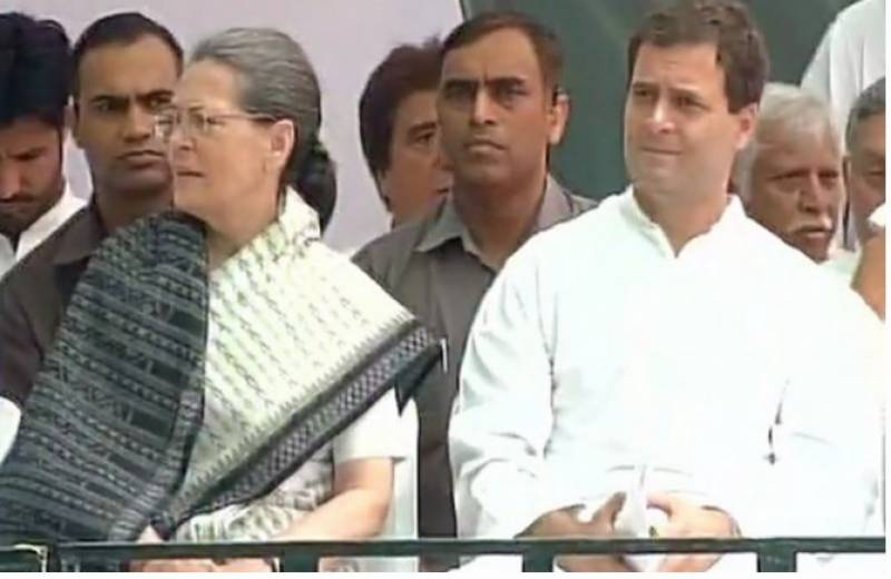 Sonia, Rahul and Manmohan arrested during