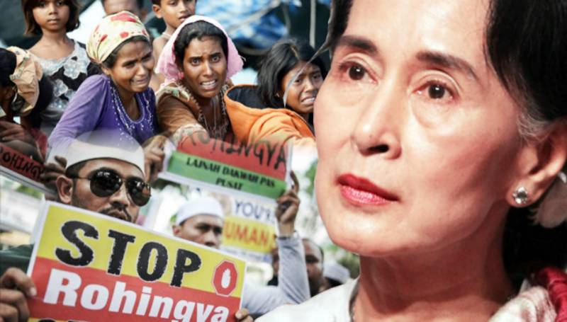 Myanmar's de facto ruler and Nobel laureate Suu Kyi refuses to recognize 'Rohingya'