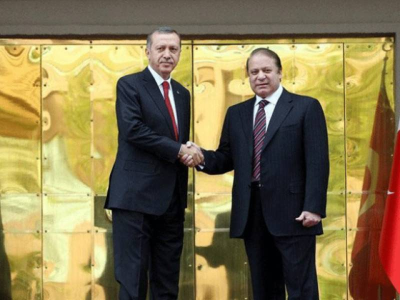 PM Nawaz signs marriage contract of Erdogan's daughter as witness