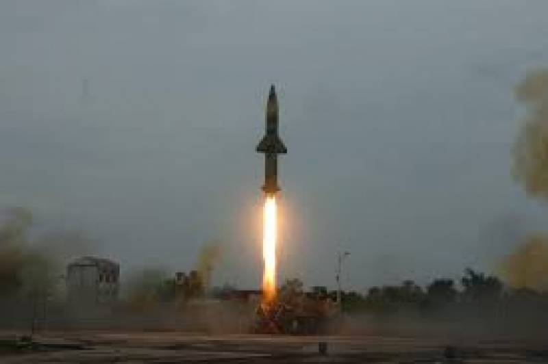 India test-fires advanced interceptor missile