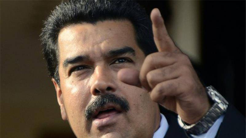 Venezuelan president accuses US of planning coup; declares emergency