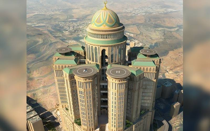 Luxury on pilgrimage: Makkah soon to have world's largest hotel with 10,000 rooms