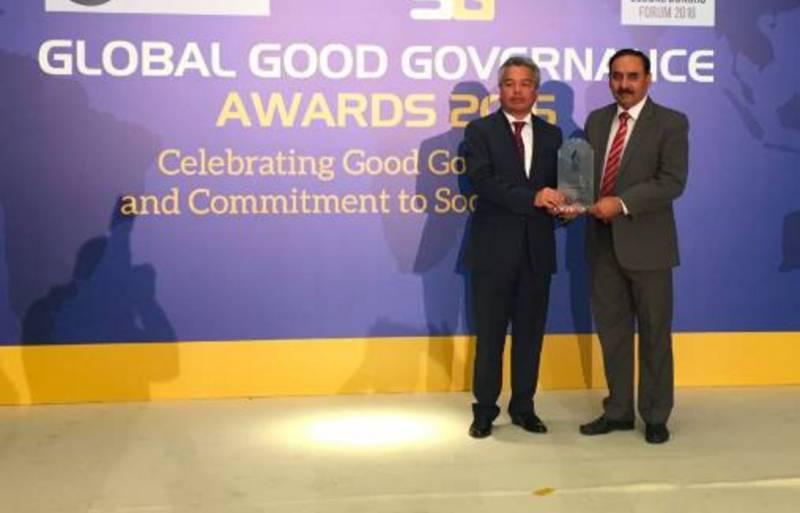 Pakistani philanthropist Dr Zafar Iqbal honoured at Global Donors Forum 2016