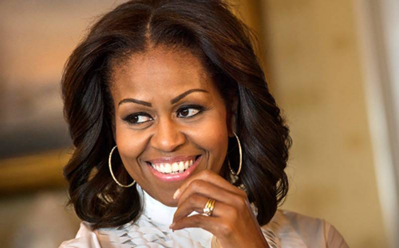 Michelle Obama makes history by first-ever visit to Pakistan Embassy in DC