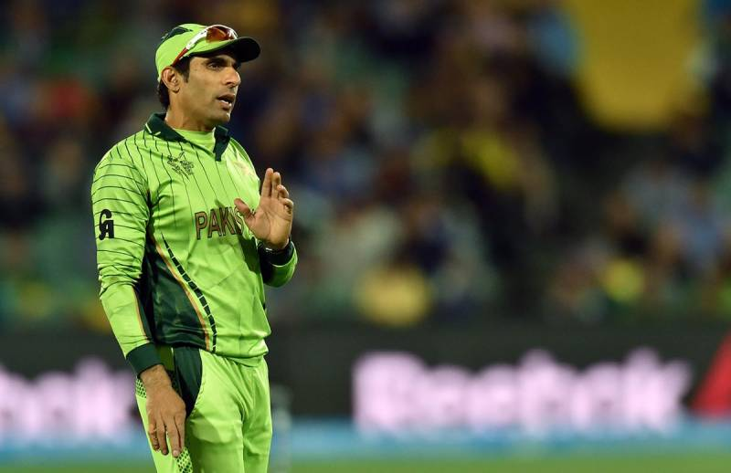Misbah turns 42 today. Here is a heartwarming picture of the celebration