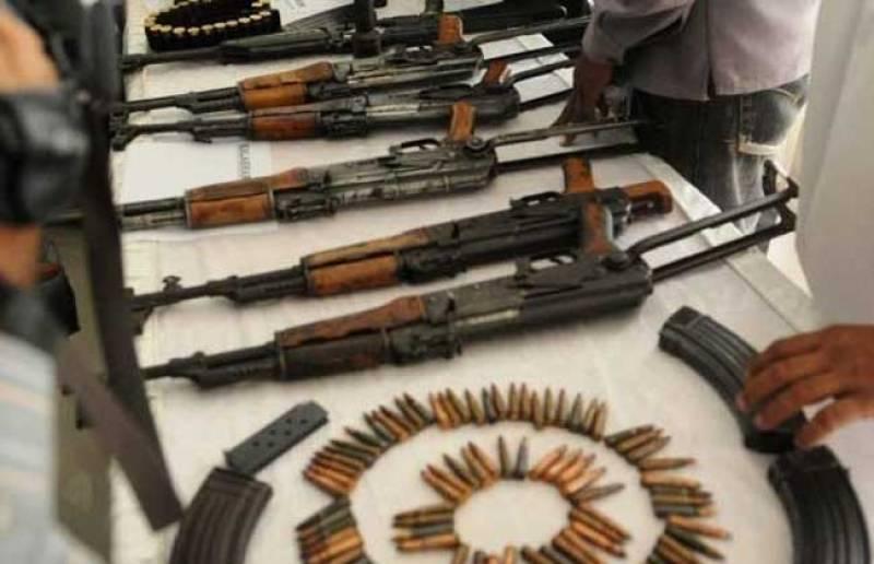 Rangers raid Gulshan-i-Iqbal flat, recover large stash of arms