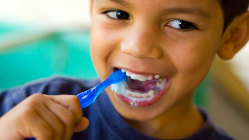Scary video shows importance of brushing teeth twice a day