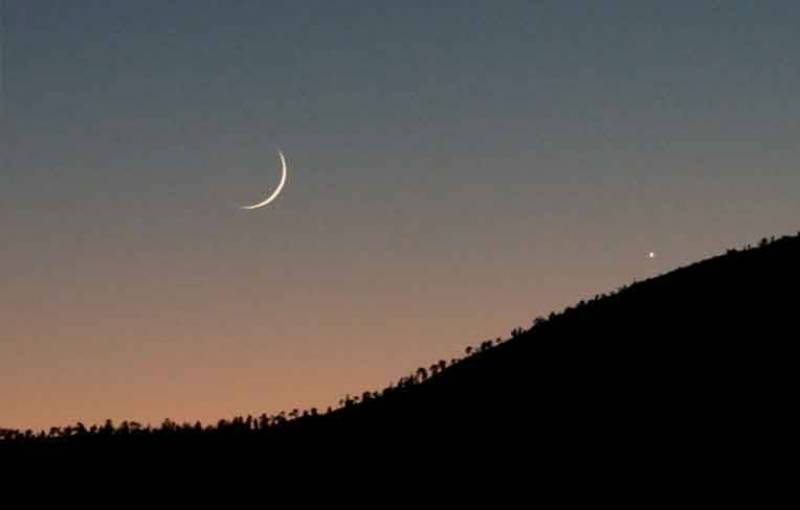 Good chance for Ramazan moon sighting on June 6: Met office