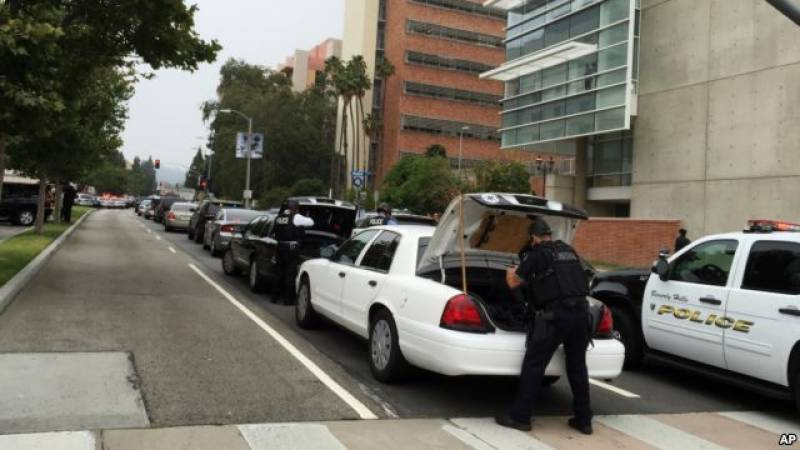 Two shot dead on California University campus