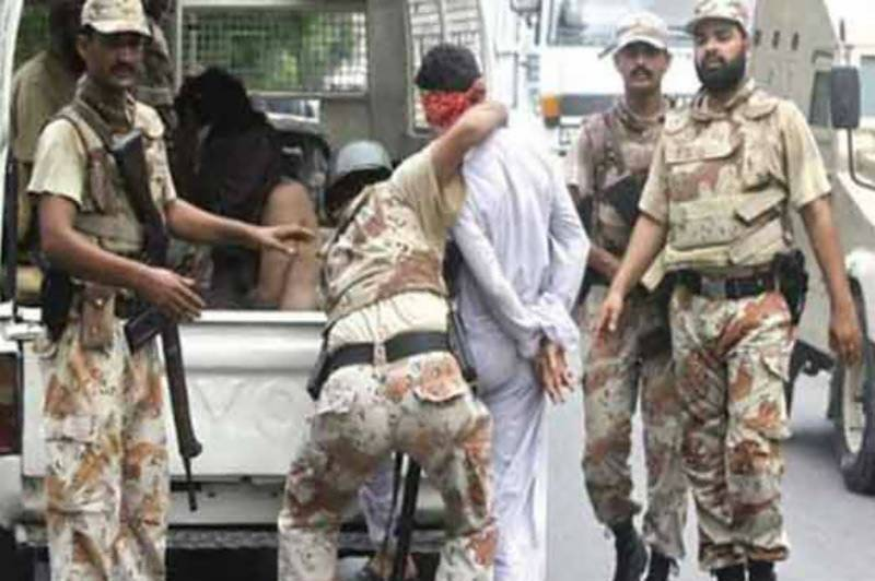 Rangers detain six criminals in Karachi