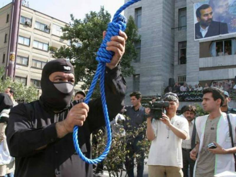 Iranian man who lathered in Vaseline before raping women hanged to death