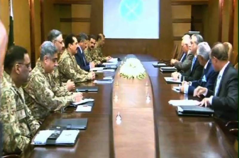 High-level civil-military meeting at GHQ to discuss key security issues