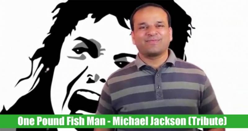 One-pound fish singer pays tribute to Michael Jackson