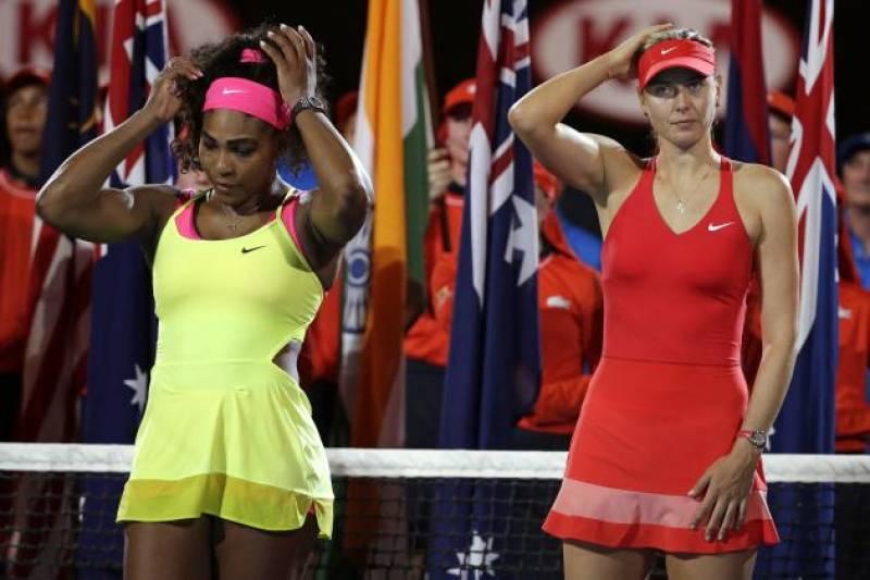 Serena dethrones Sharapova as world's highest paid sportswoman