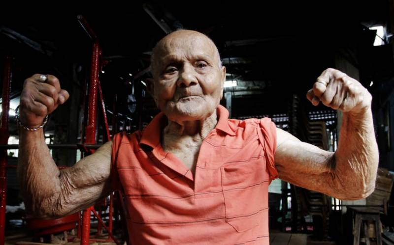 Top Indian bodybuilder dies at 104