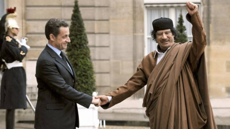 French President election campaign bankrolled by Qaddafi, before Paris helped NATO bomb Libya: leaked documents