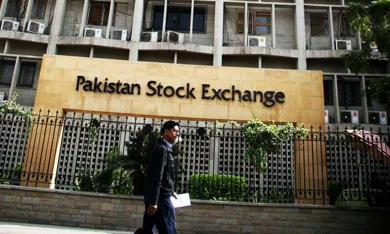 Pakistani stocks dip last day of week