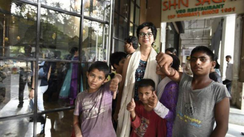 Delhi restaurant found 'guilty' of discrimination for not serving street children