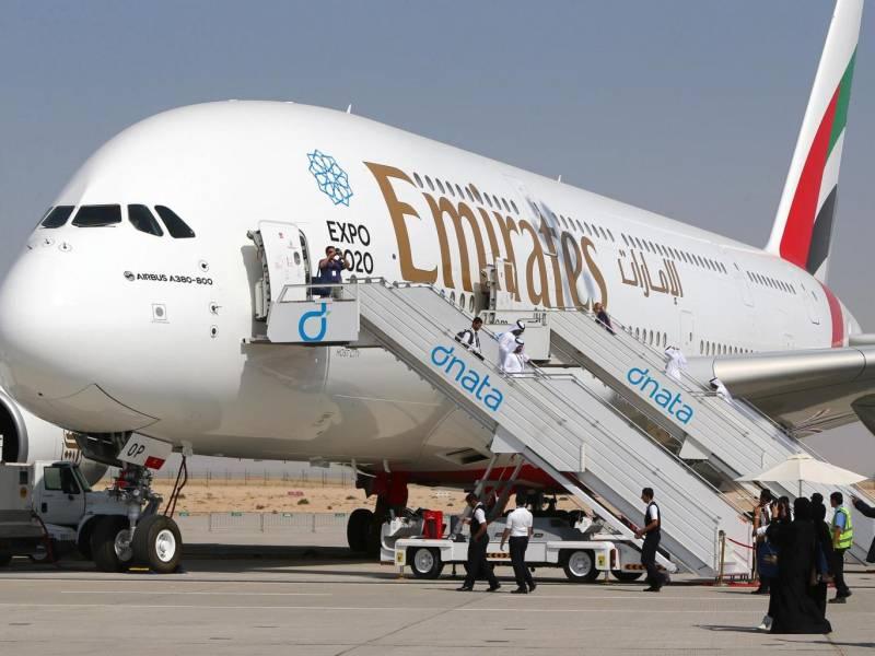 Emirates airline staff