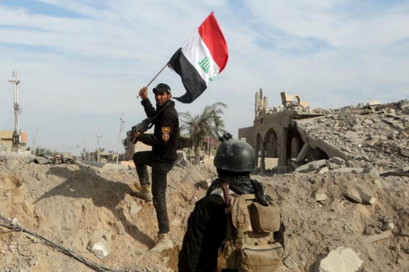 Iraqi forces recapture key govt installments in Fallujah from ISIS