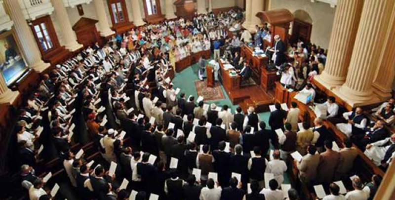 PTI cause ruckus in the middle of the House during budget debate in Punjab Assembly