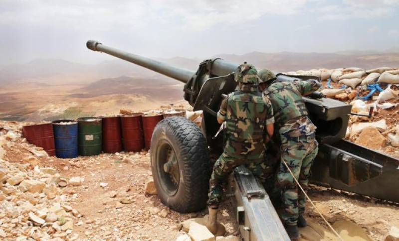 The Middle East's invisible heroes: Lebanese army tightening the screws on Daesh extremists near Syrian border