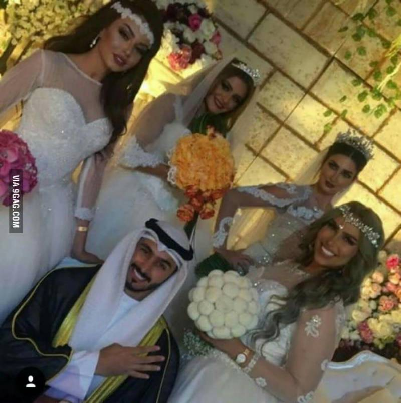 When his ex-wife told him he would never find another woman, this Kuwaiti man went out and did the unthinkable