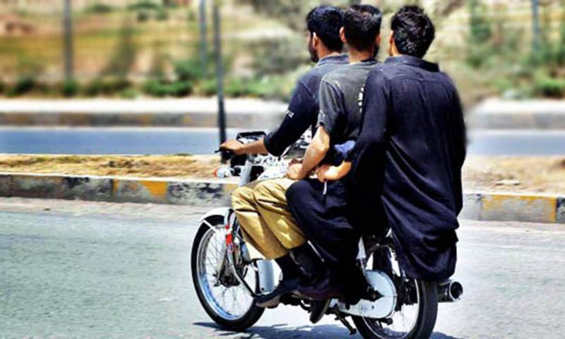 Pillion riding banned in Karachi, Hyderabad for Youm-e-Ali