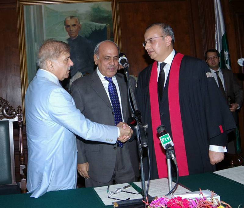 Justice Mansoor Ali Shah takes oath as Chief Justice of Lahore High Court
