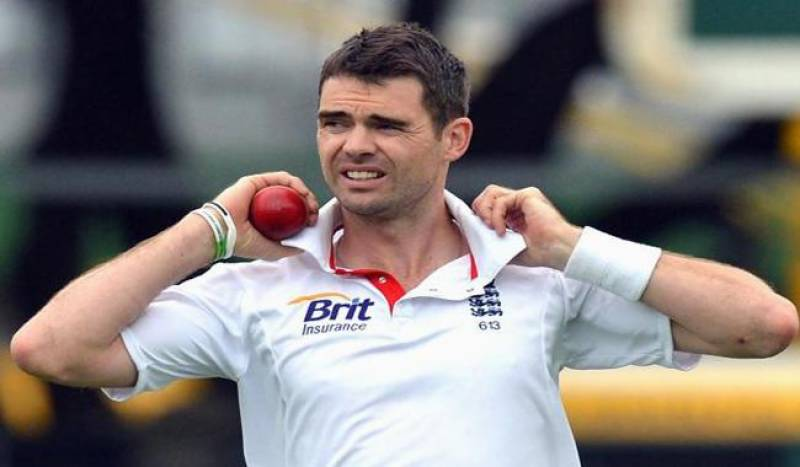 England's Anderson out of first Pakistan Test