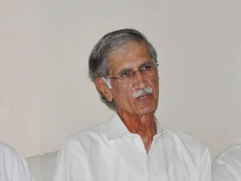 Chief Minister Pervez Khattak awards land to Edhi Foundation from KP govt