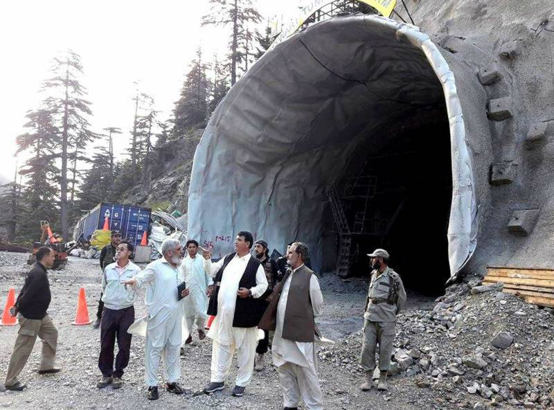Luwari tunnel to be completed till March 2017: Amir Muqam