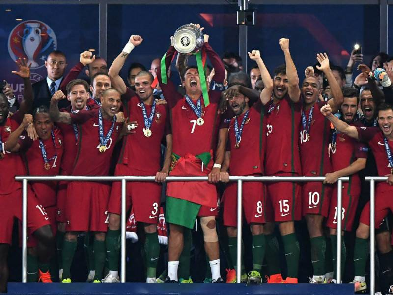 Portugal wins Euro football Cup 2016 after beating France