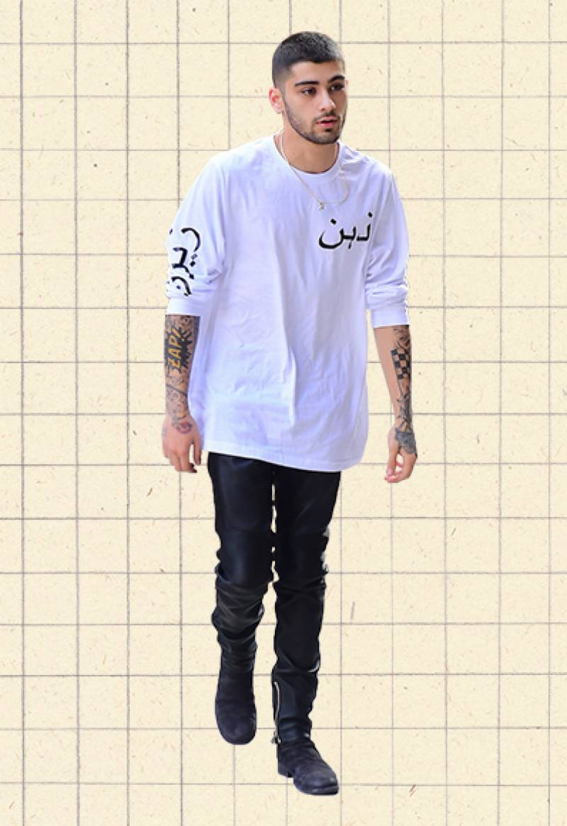 International pop sensation Zayn Malik makes Urdu fashionable