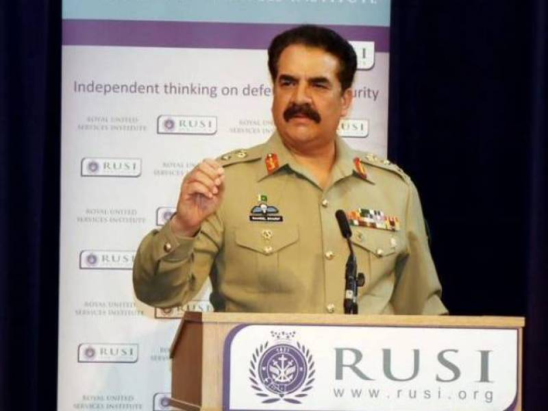 Army chief General Raheel Sharif confirms death sentences of another 12 terrorists