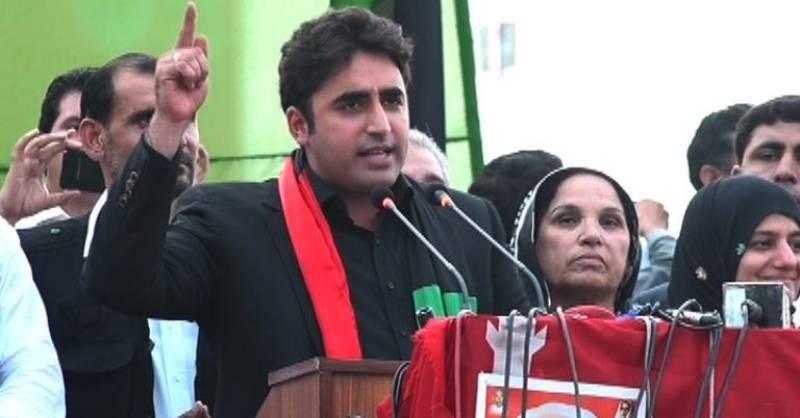 Bilawal accuses PM Nawaz of backing Modi's carnage in Kashmir