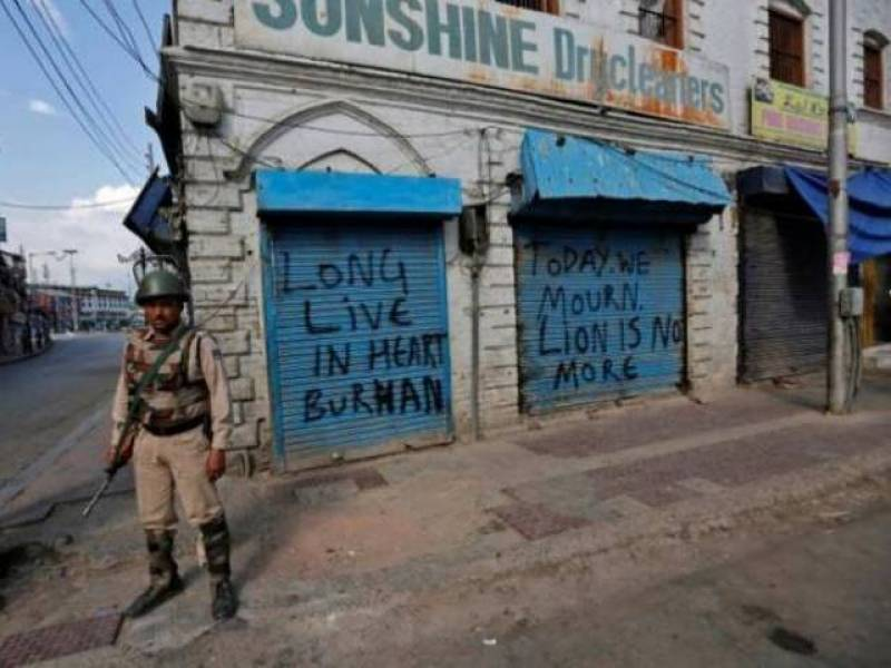 Death toll rises to 40 as indian atrocities continue in Kashmir despite international concern