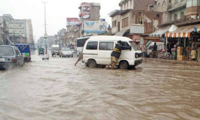 Five dead as heavy rains and thunderstorms lash Punjab