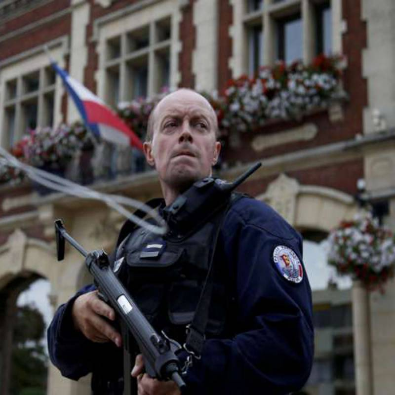 Terror hits France again: Teenage attackers slit priest's throat in front of congregation