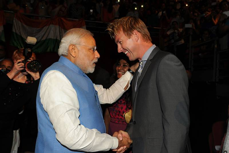 Why Aussie pace legend Brett Lee wants to shake hands with Indian PM Modi