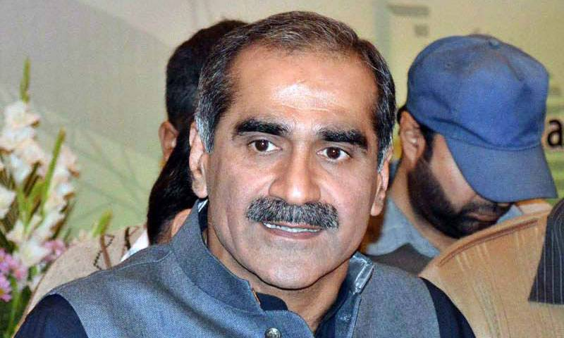 Exclusive video of Saad Rafique hilariously greeting Nawaz Sharif like a king