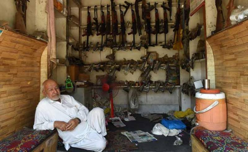 There is one place in Pakistan where guns are cheaper than smart phones