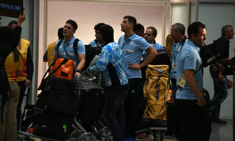 Argentina Olympic team receives rude awakening in Mexico